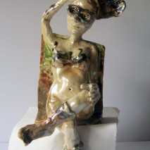 Cathy Linfield  clay 2014