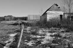Where Once a Farm House Stood...